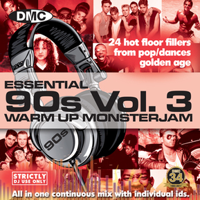 Essential 90s Warm Up Monsterjam Vol.3