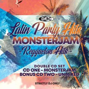 Latin Party Hits Monsterjam 1 + Bonus Of 25 Unmixed Tracks