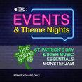 Events & Theme Nights - St. Patrick's Day & Irish Music Essentials - Monsterjam 1