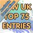 Top 75 New Entries (Dance Mixes) (Week 45)
