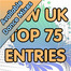 Official UK Top 75 New Entries (Available Dance Mixes) (Week 46)